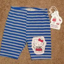 Misha Lulu Baby Girl's Leggings Capri's. Size 18-24 Months. Nwt  Hello Kitty Photo