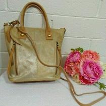 Miss Albright Anthropologie Athena Calf Hair Small Tote Crossbody Bag Purse  Photo