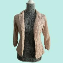 Miss Chievous Blazer  Blush Floral  Size S  Euc Photo