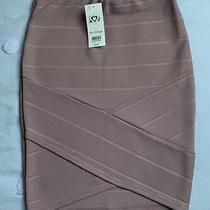 Miss Selfridge Ladies Blush Pink Bodycon Skirt Size 8 Photo