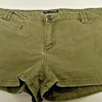Misses Olive Green Shorts From Express Size 10 Photo