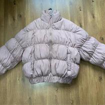 Missguided Blush Pink Bomber Coat. Size Uk 8 Photo