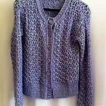 Missioni Cable Knit Cardigan Sweater Size 40 Photo