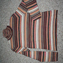 Missoni 44 Medium Large Long Sleeve Sweater Turtleneck Wool Blend 8 Photo