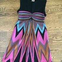 Missoni Authentic Fabulous Chevron Dress Size 0 Us 36 Euro Mint Photo