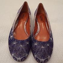 Missoni Ballerina Flats (Italian Authentic) Purple 495 Retail Size 38.5 Eu Photo
