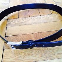 Missoni Black Leather Belt Designer Photo