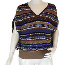 Missoni Cape Jumper Luxury Shirt Wool Sleeveless Photo