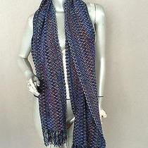 Missoni Chenille Zig Zag Scarf Made in Italy Photo