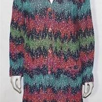 Missoni Collection Vintage Cardigan Sweater Dress S Photo