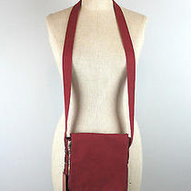 Missoni Crossbody Messenger Bag Nwt Red Canvas and Plaid (Not for Target) Photo