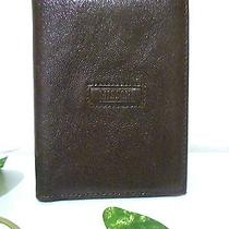 Missoni Dark Brown Textured Leather Bifold Mens Wallet 100419195 U254 Photo
