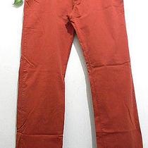Missoni Dark Orange Maroon Men Cotton Casual Italian Pants Size Us Xl 38 Eu 56 Photo