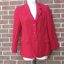 Missoni Donna Red Jacket Pants Suit Size 10 Wool Blend Women's Italy Photo