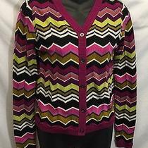 Missoni for Target Chevron Multicolor Sweater Cardigan Size Xl Photo