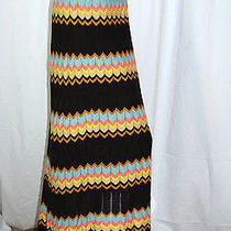 Missoni for Target Colore Lined Maxi Sweater Skirt Chevron Zig-Zag Size Xl Photo