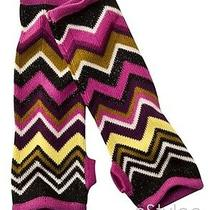 Missoni for Target Fingerless Gloves Arm Warmers Purple Zigzag Passione Photo