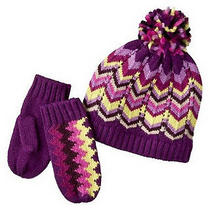 Missoni for Target Girl's Hat and Mittens Set - New With Tags Photo