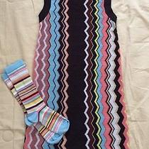 Missoni for Target Girl's Sweater Dress Size Small With Coordinating Socks Photo