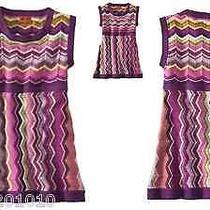 Missoni for Target Girls Tunic Sweater Dress Zig Zag Sz Xl (8-10) Sleeveless New Photo