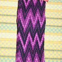Missoni for Target Nwt Knee High Socks Zig Zag Purple Ladies Size 4-10  Photo