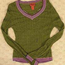 Missoni for Target Olive Green Sweater Women's Size M Photo