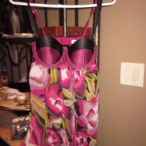 Missoni for Target Purple Floral Babydoll Nightie Floral Nwot Ladies S  Photo