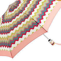 Missoni for Target  Retractable Umbrella in Multi Wave Colourful Nwt -  Photo
