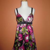 Missoni for Target Size M Purple Print Silky Woven Chemise  Photo