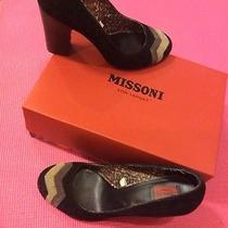 Missoni for Target Suede Pumps Photo