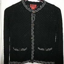 Missoni for Target Sweater Cardigan Jacket Famiglia Black White - Xsmall  Xs Photo
