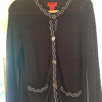 Missoni for Target Sweater Size Large Black and White Photo