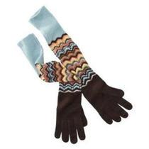 Missoni for Target Women's Pointelle Zig Zag Long Gloves - Nwt Photo