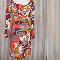 Missoni Great Looking Fun Dress With a Lot of Details Club-Wear M Photo