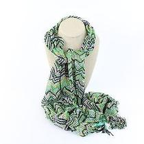 Missoni Green Print Scarf Photo
