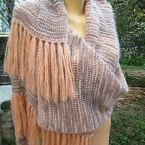 Missoni High End Couture Knit Wool Mohair Sweater  Shawl Collar Orange Label Photo
