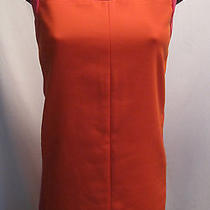 Missoni Italy Colorblock  Orange Pink Cotton  Dress Size 4 Photo
