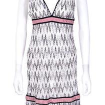 Missoni Italy Orange Label Black & White Knit Dress Sz 38 Us Xs Photo