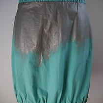Missoni M Painted Finish Cotton Skirt Size 6 Photo