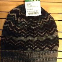 Missoni Mens Wool Benie Hat Authentic Free Ship Photo