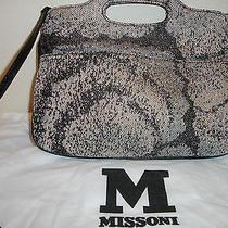 Missoni Metallic Fabric Handbag Photo