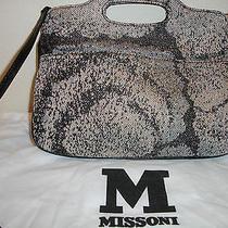Missoni Metallic Fabric Handbag Photo