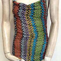 Missoni Multi-Color Fitted Dress  Photo