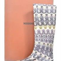 Missoni Rachel Designer Wellington Wellies Gum Rain Boots 39 Photo