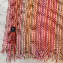 Missoni Rose Pink Netted Viscose Super Large Scarf - Gorgeous Colour Palette Photo