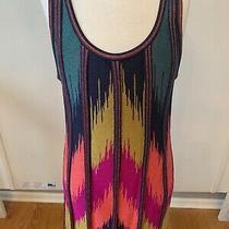 Missoni Sleeveless Multycolor Dress Size 38 Photo