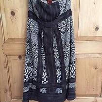 Missoni Strapless Knit Dress-Black and White-Italian -Size 44 Photo