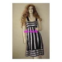 Missoni Stripe Sequin Jewel Dress 38 40 Nwt 1525 Photo