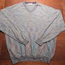 Missoni Sweater v-Neck Long Sleeves Cotton Size Medium  Photo
