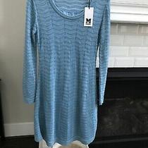 Missoni Turquoise Lurex Mini Dress Nwt It 42 Us Small Photo